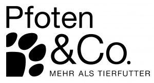 Logo Pfoten & Co. schwarz